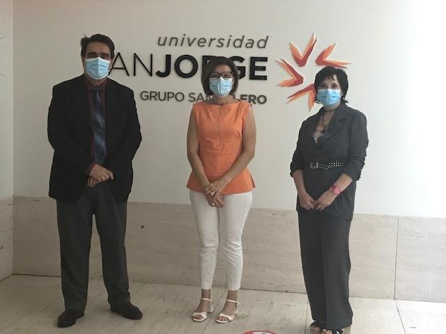 La Universidad San Jorge y la Asociación de Directivos de Comunicación de Aragón colaborarán para facilitar el acceso de los asociados de DIRCOM Aragón a los posgrados de la USJ