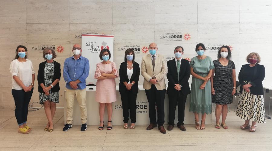El Grupo San Valero y el Hospital San Juan de Dios colaborarán en actividades docentes, educativas y de investigación