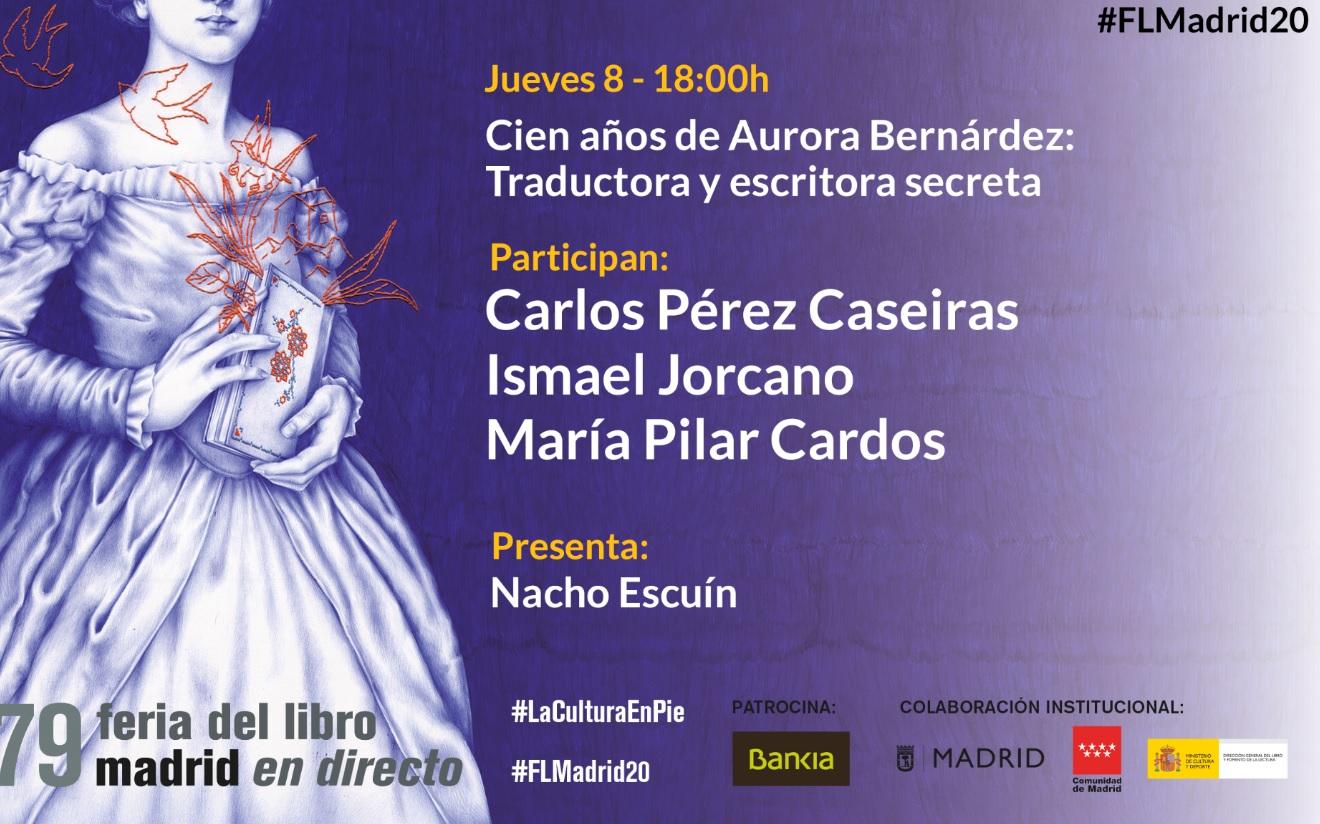 Aurora Bernárdez Feria Libro Madrid