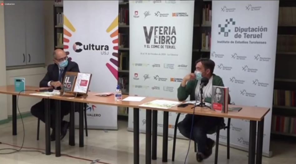 """La Feria del Libro de Teruel acoge la presentación del catálogo """"Ediciones USJ 2020"""""""