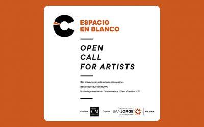 """Cultura USJ convoca """"Open call for artists"""", un concurso para dar a conocer el trabajo de jóvenes artistas de Aragón"""