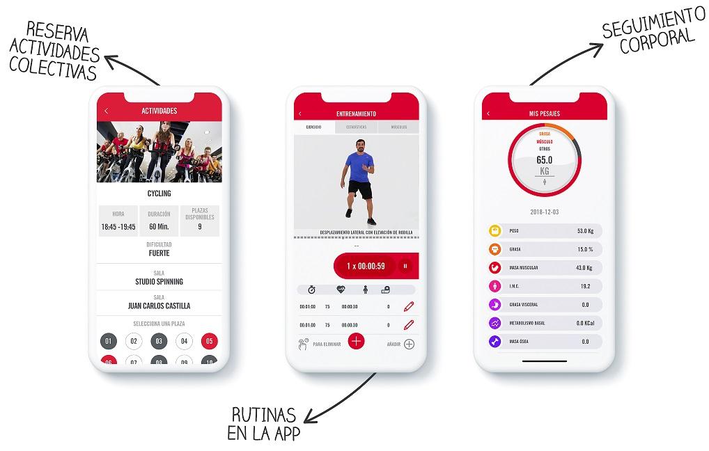 El Servicio de Actividades Deportivas sigue adaptando sus actividades e implanta la App Trainingym para ofrecer entrenamientos personales