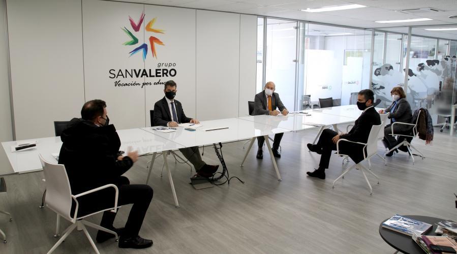 Grupo San Valero y el Colegio de Ingenieros Industriales desarrollarán conjuntamente proyectos de I+D+i y actividades formativas