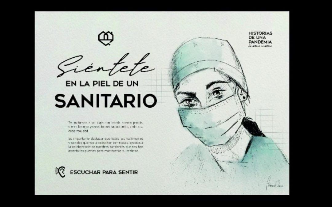 """El grado en Enfermería colabora en el proyecto """"Historias de una pandemia"""" aportando su testimonio en la lucha contra la covid19"""
