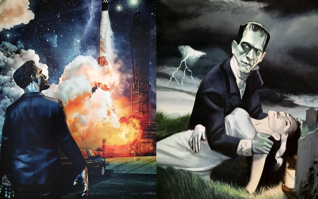 """La exposición """"Frankenstein resuturado"""" llega a la Universidad San Jorge de la mano de Cultura USJ y el Festival Aragón Negro"""