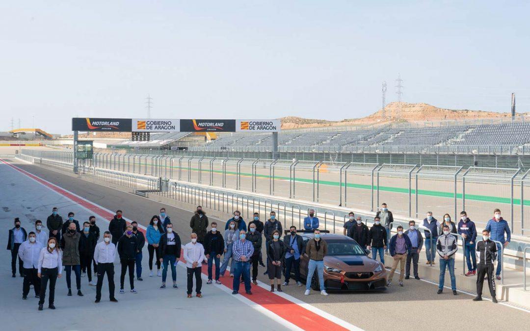 Primera jornada práctica del Máster en ingeniería del Motorsport