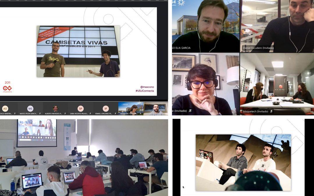 Más de 150 estudiantes participan en la jornada de empleabilidad USJ Connecta de la Universidad San Jorge