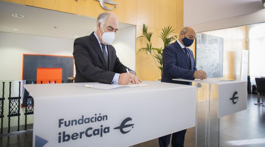 Fundación Ibercaja y Grupo San Valero renuevan su convenio de ayudas para el aprendizaje y servicio solidario
