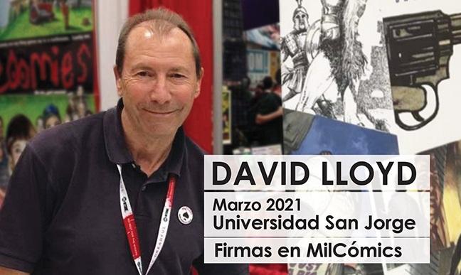 El artista británico David Lloyd hablará sobre su obra en un evento organizado por la Universidad San Jorge