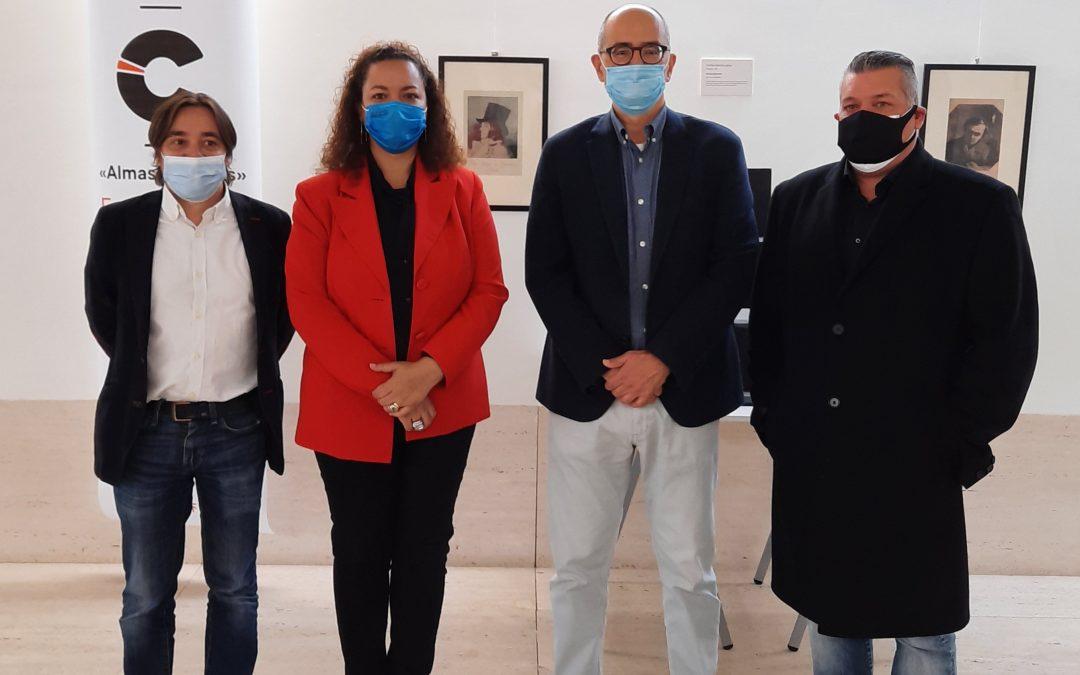 Inauguración de la exposición 'Almas gemelas', comisariada por Carlos García Lahoz
