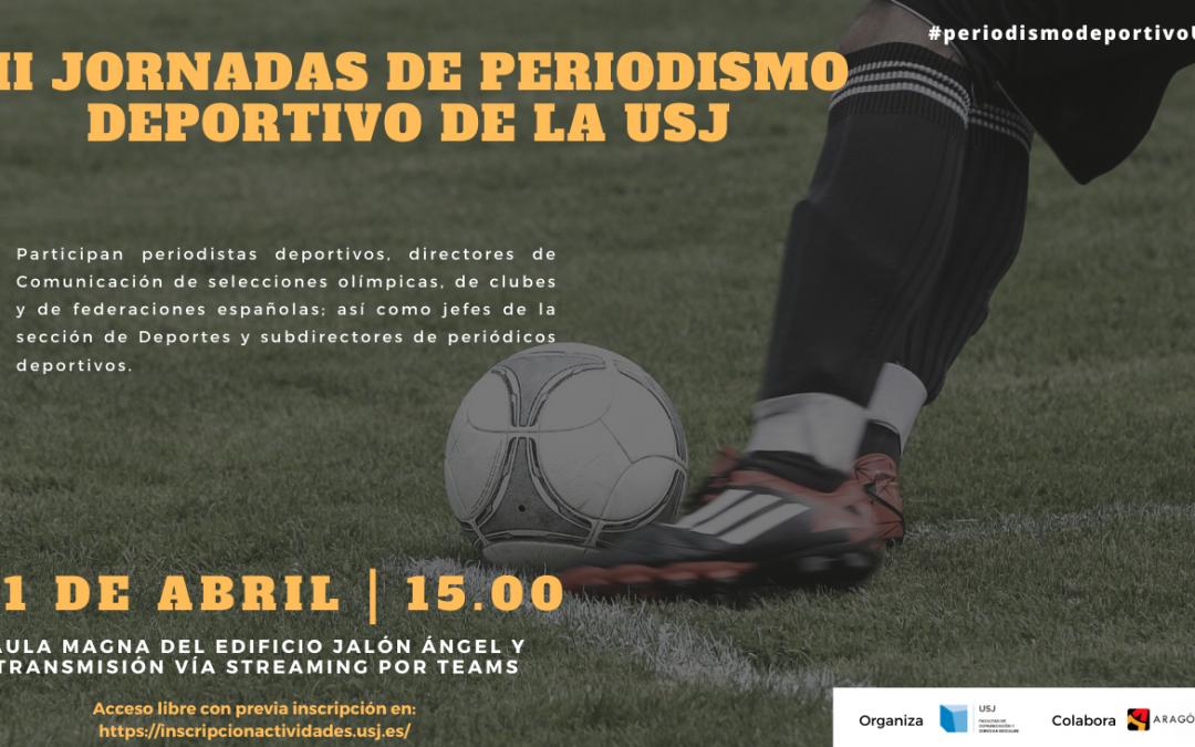 Las terceras Jornadas de Periodismo Deportivo de la USJ tratarán la cobertura y la gestión de eventos deportivos internacionales en tiempos de pandemia
