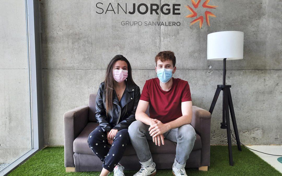 Los alumnos Izarbe Moreno y Alfonso López representarán a la USJ en la final internacional del Telepizza Excellence Lab