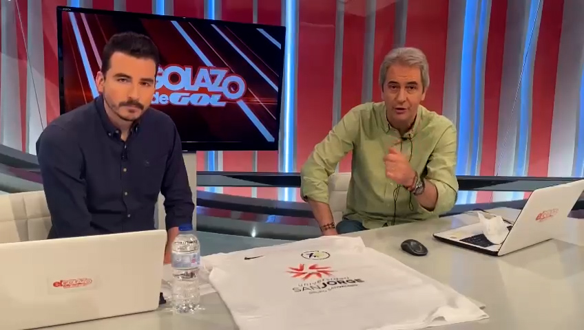 Periodistas deportivos de la televisión y la radio nacional apoyan el Reto Santiago 776 del profesor Héctor Gutiérrez