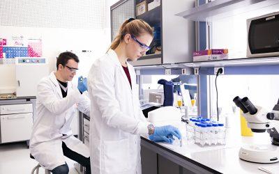 El grado en Biomedicina de la Universidad San Jorge contará con un nuevo laboratorio para realizar sus prácticas