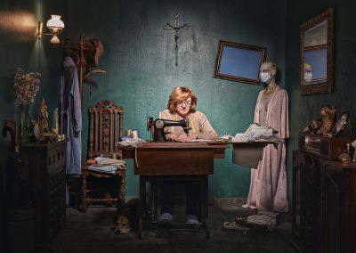 'Madre' de Jesús Chacón Carrasco (Marbella, España) - Mención especial categoría Retrato
