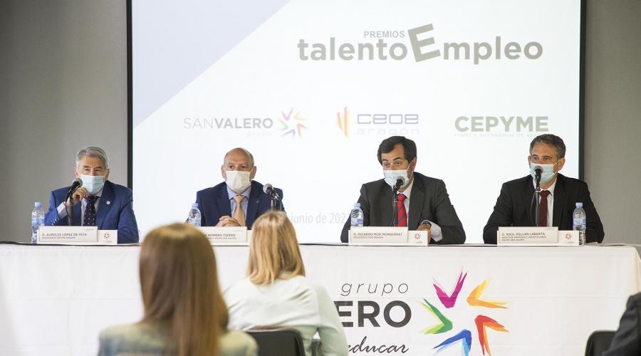 Los premios 'Talento Empleo' reconocerán la creación de empleo estable y de calidad en Aragón
