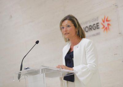 Berta Sáez, rectora de la USJ