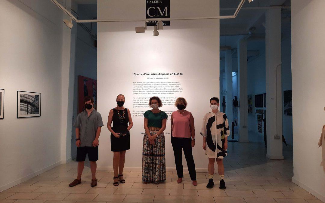 """Cultura USJ y la Galería Cristina Marín inauguran la exposición """"Open Call For Artists"""" con las obras de Íñigo Insausti y Noelia Marín"""