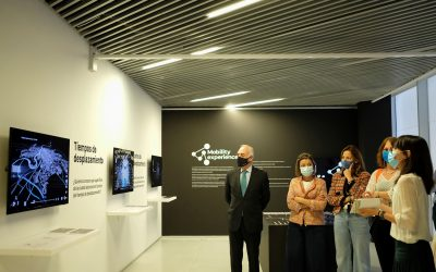 La Universidad San Jorge y Fundación Ibercaja inauguran la exposición Mobility Experience en Etopia