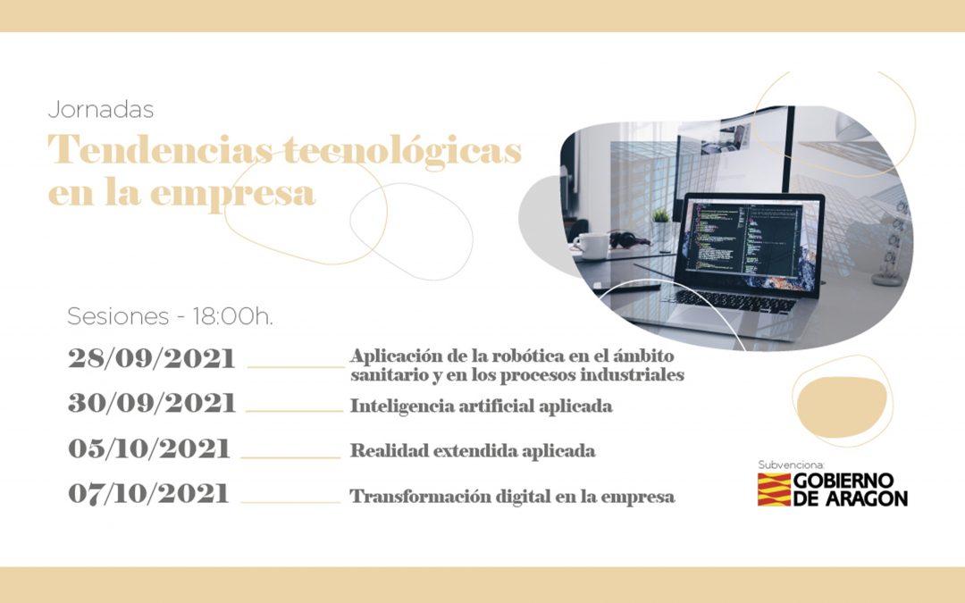 La Universidad San Jorge organiza unas jornadas sobre robótica, inteligencia artificial, realidad virtual y transformación digital con expertos del sector tecnológico