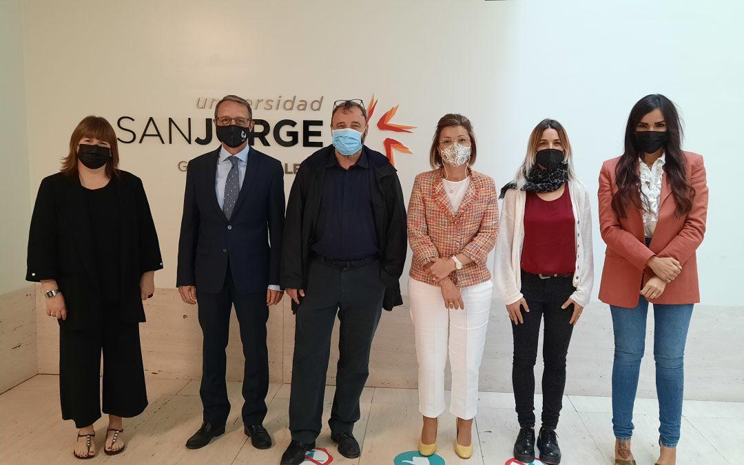La Universidad San Jorge y el Colegio Profesional de Psicología de Aragón realizarán conjuntamente actividades de formación, asesoramiento e investigación