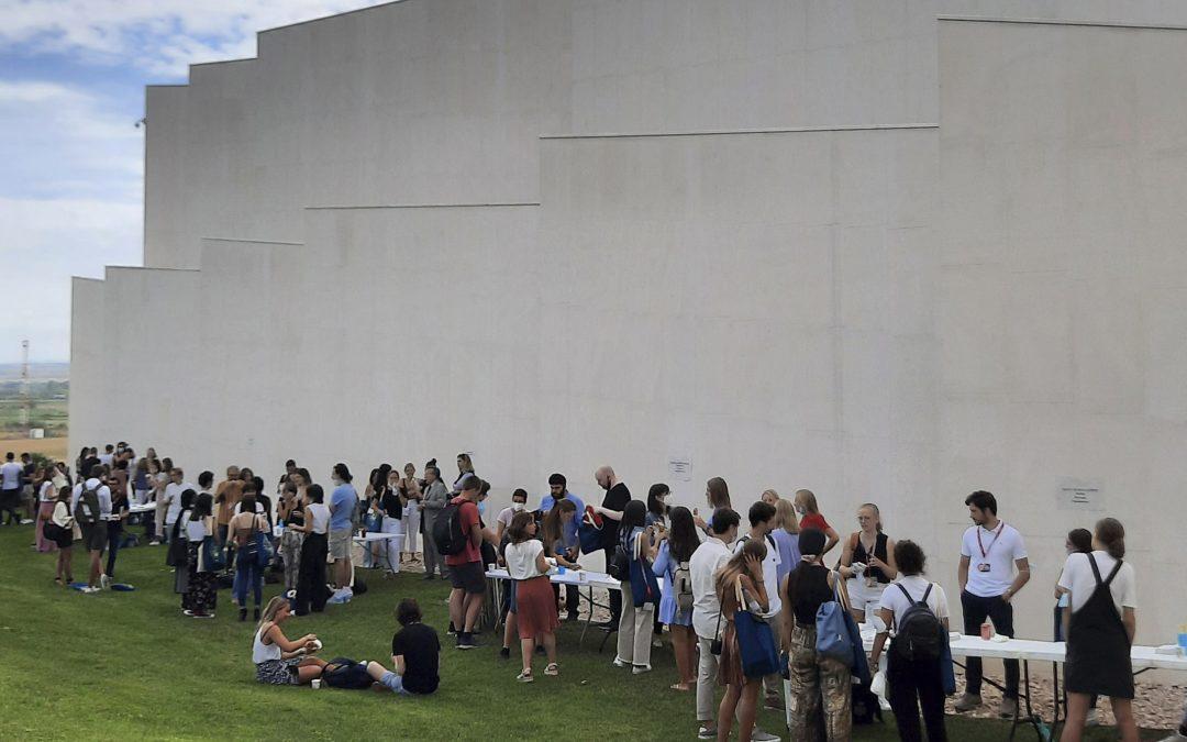 La Universidad San Jorge recibe en el campus a los estudiantes internacionales