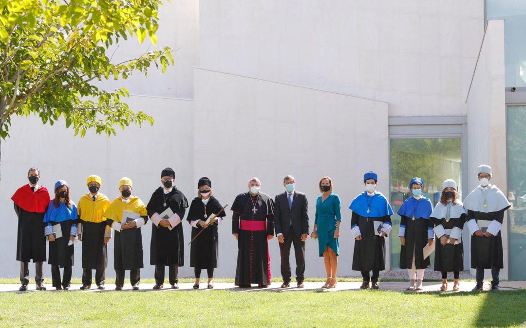 La Universidad San Jorge celebra el acto oficial de Apertura del curso académico 2021-2022 con una lección inaugural sobre las secuelas de la covid-19