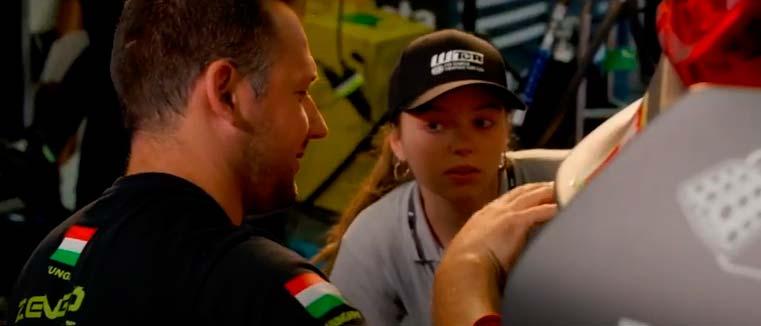 Los alumnos del Máster en Ingeniería del Motorsport continúan su formación en el Gran Premio de Moto GP en Aragón