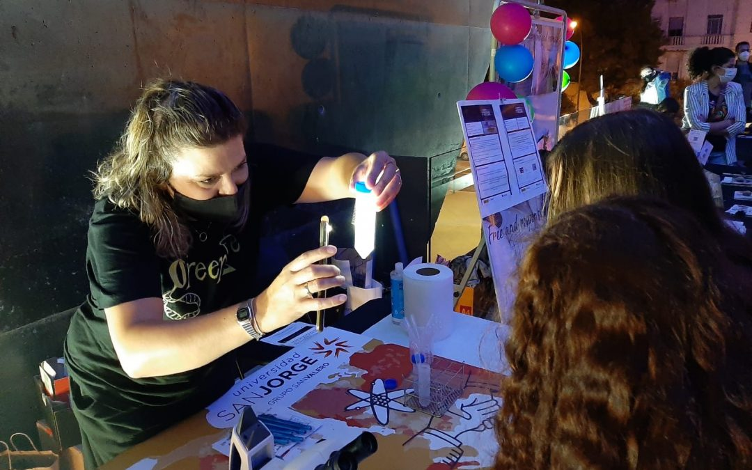 La Universidad San Jorge participa en una nueva edición de  la Noche de los Investigadores