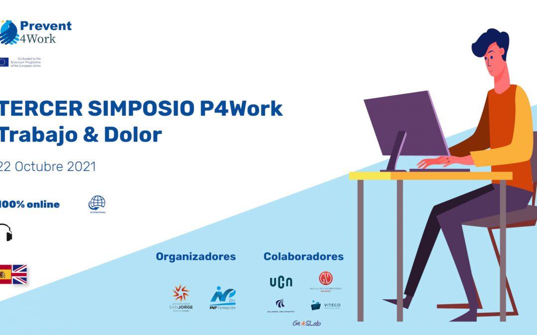 La USJ organiza el Tercer Simposio Prevent For Work para reducir el impacto de los trastornos musculoesqueléticos relacionados con el trabajo