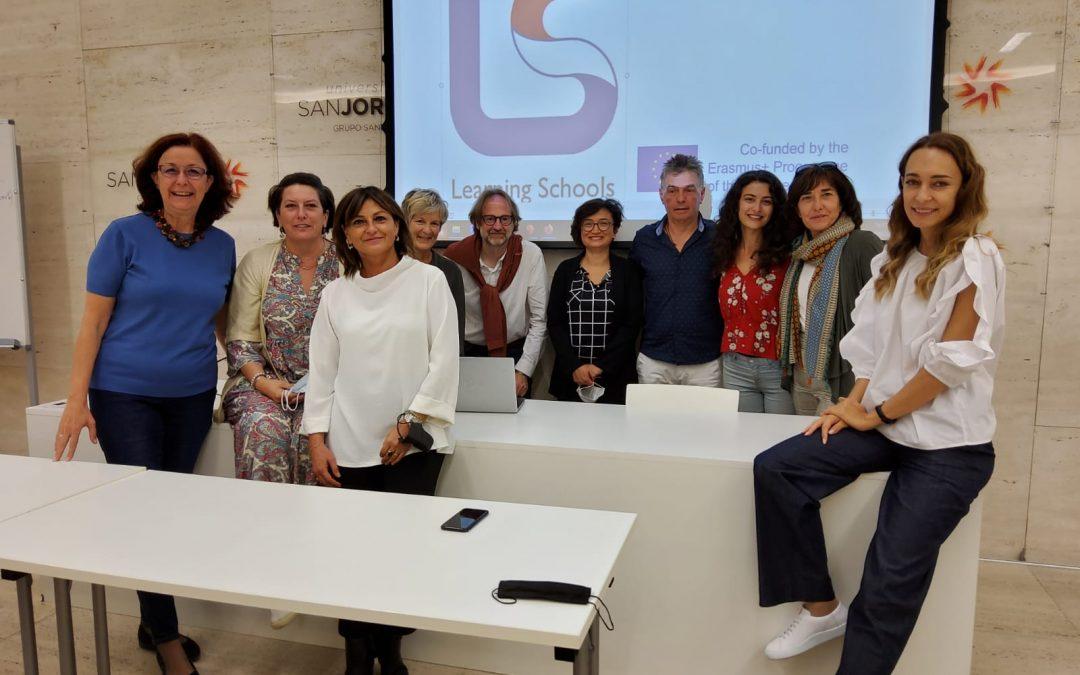 La Universidad San Jorge acoge un nuevo encuentro transnacional del proyecto Learning Schools