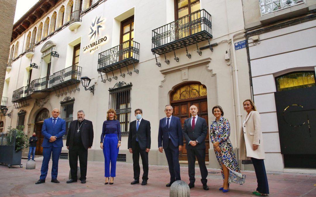 El Grupo San Valero inaugura su nueva sede en el centro de Zaragoza, un espacio abierto a los ciudadanos para la ciencia, el arte, la cultura y la reflexión