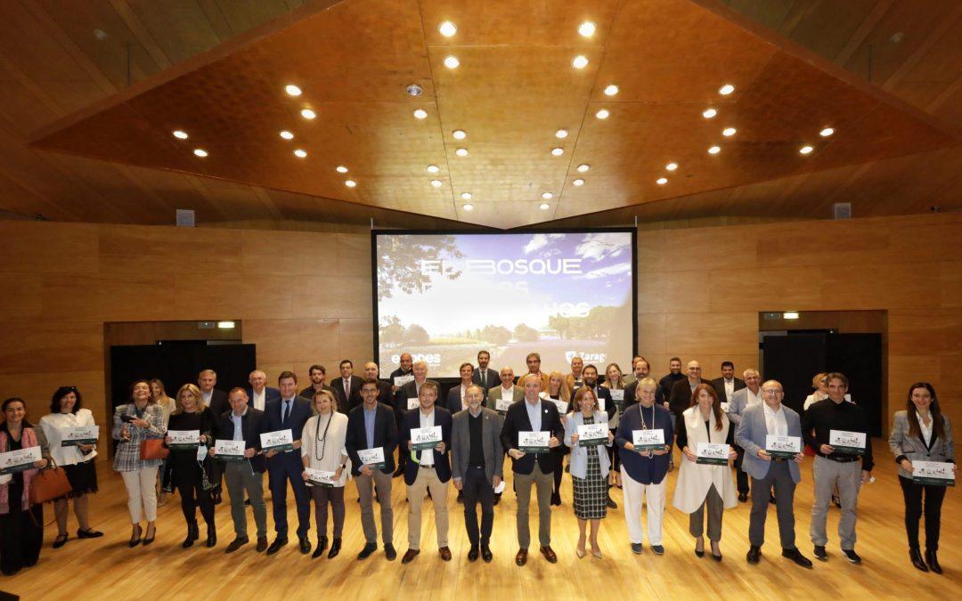La Universidad San Jorge colabora en el proyecto El Bosque de los Zaragozanos para conseguir la plantación de 700.000 árboles y arbustos