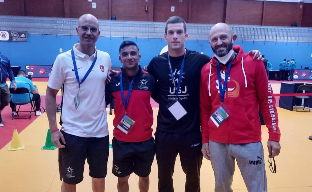 El alumno David Hinojosa, bronce en el Campeonato de España Universitario de Judo
