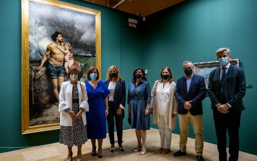 La Lonja acoge una exposición antológica dedicada al pintor aragonés Francisco Pradilla Ortiz en la que colabora la USJ