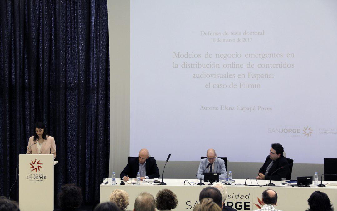 Los modelos de negocio emergentes en la distribución online tema doctoral en la USJ