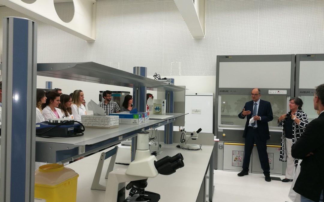 La Universidad San Jorge inaugura un nuevo laboratorio en la Facultad de Ciencias de la Salud dedicado a la investigación