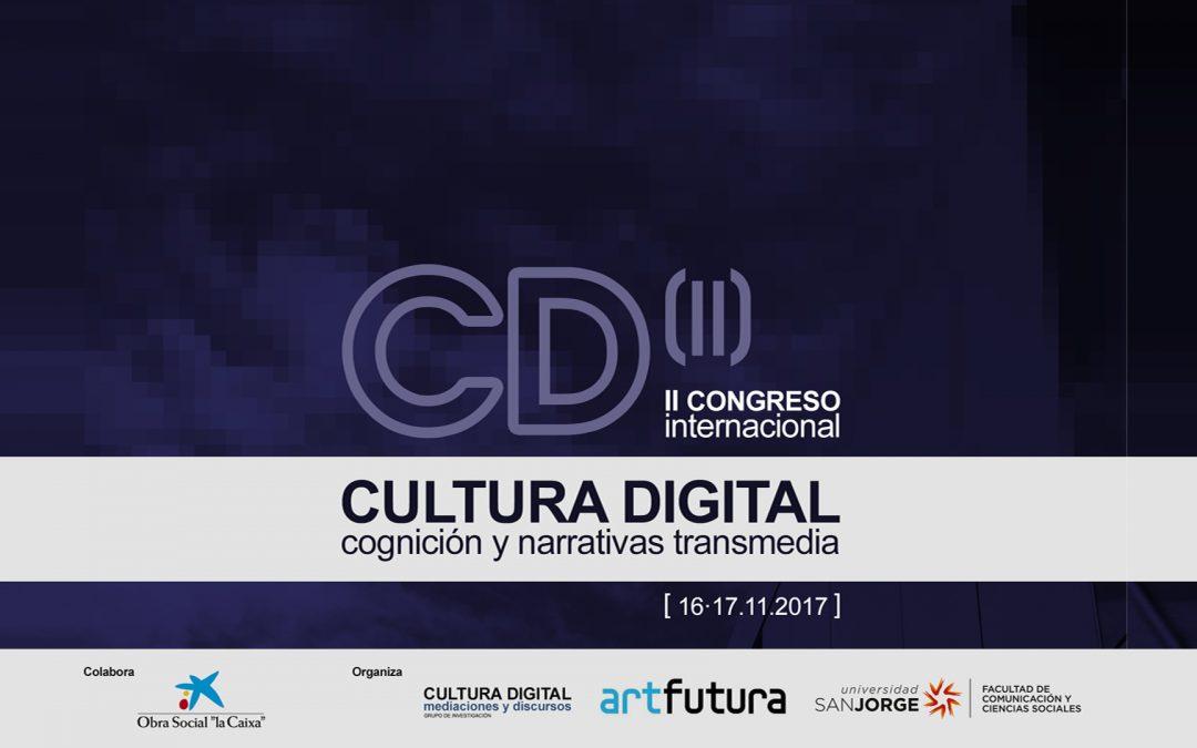 Los creadores y grupos de investigación más punteros de España se dan cita en el II Congreso de Cultura digital de la Universidad San Jorge