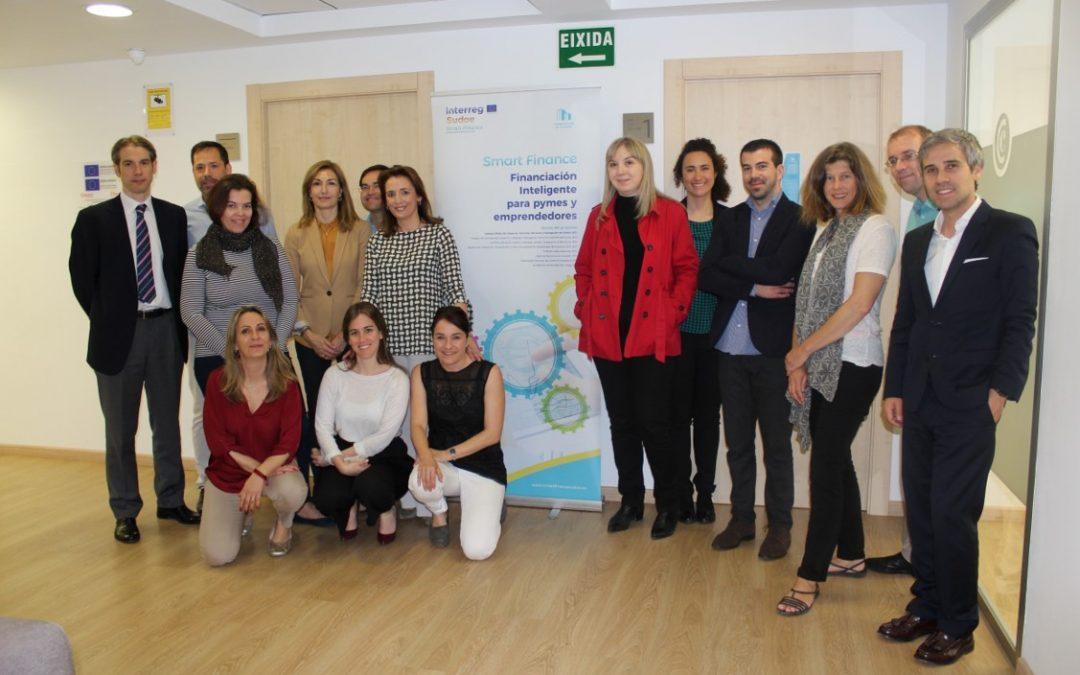 "4ª reunión de socios del Proyecto europeo ""SMART FINANCE"" en Valencia."