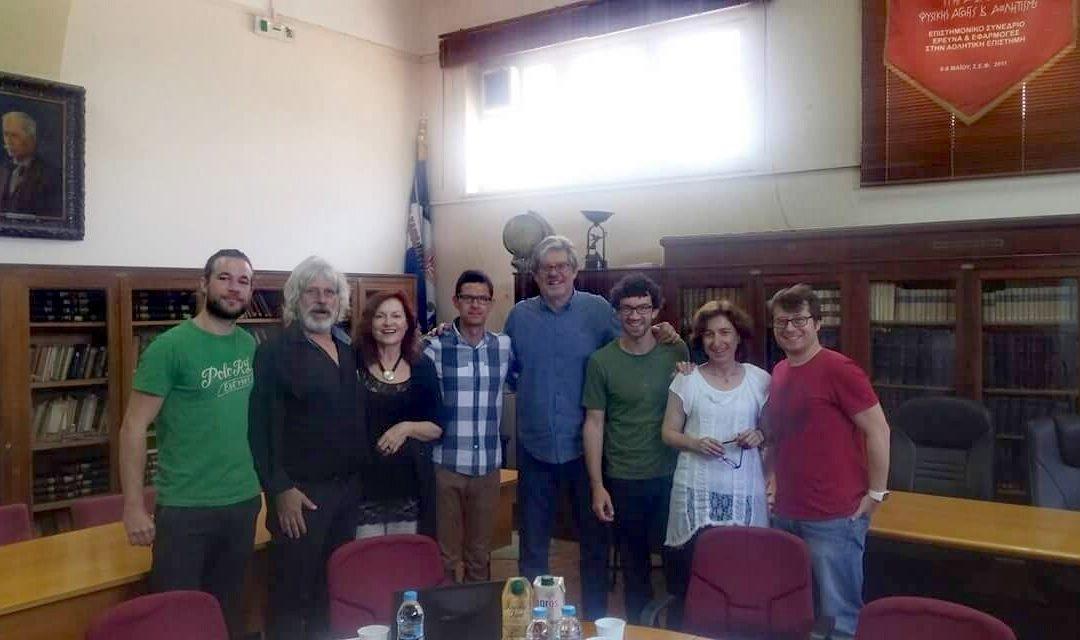 Reunión final del proyecto GEO LUDENS en Atenas con evaluación de resultados.