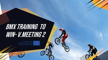 Segunda reunión virtual del proyecto BMX TRAINING TO WIN