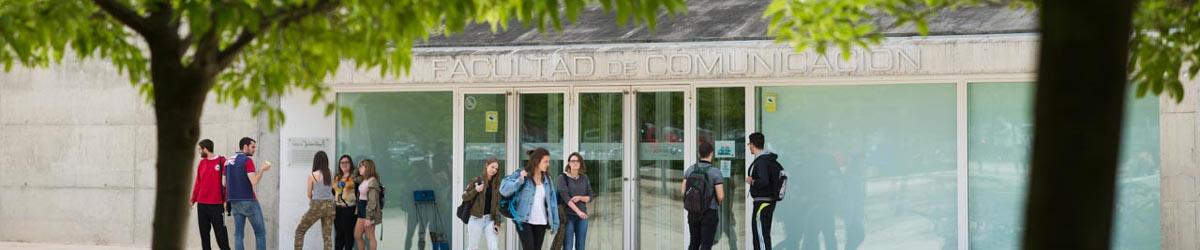 Facultad de Comunicación y Ciencias Sociales. Organigrama, instalaciones, estudios.