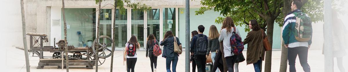 Campus Universitario. Información de posgrados.