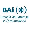 Logo BAI Escuela de Empresa y Comunicación