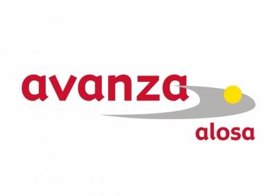 Logo de Alosa como patrocinador de la Universidad San Jorge
