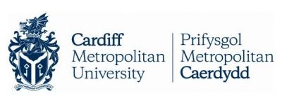 Logo de la universidad colaboradora Cardiff Metropolitan University