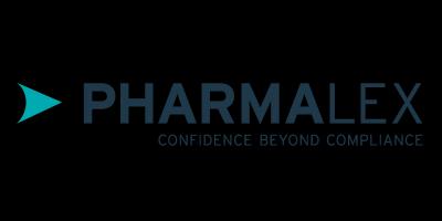 Logo de Pharmalex para el Título de Experto en  Farmacovigilancia y Farmacoeconomía