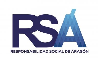 Logo de Responsabilidad Social de Aragón. Colaborador de la Universidad San Jorge