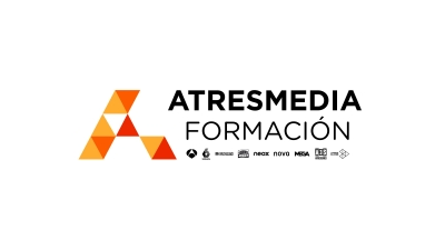 Logotio ATRESMEDIA Formación