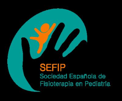 Logotipo SEFIP. Colaborador Título de Experto en Fisioterapia Pediátrica